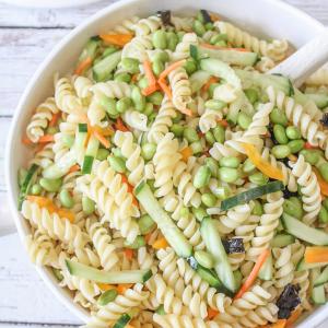 Sushi Pasta Salad Featured Image