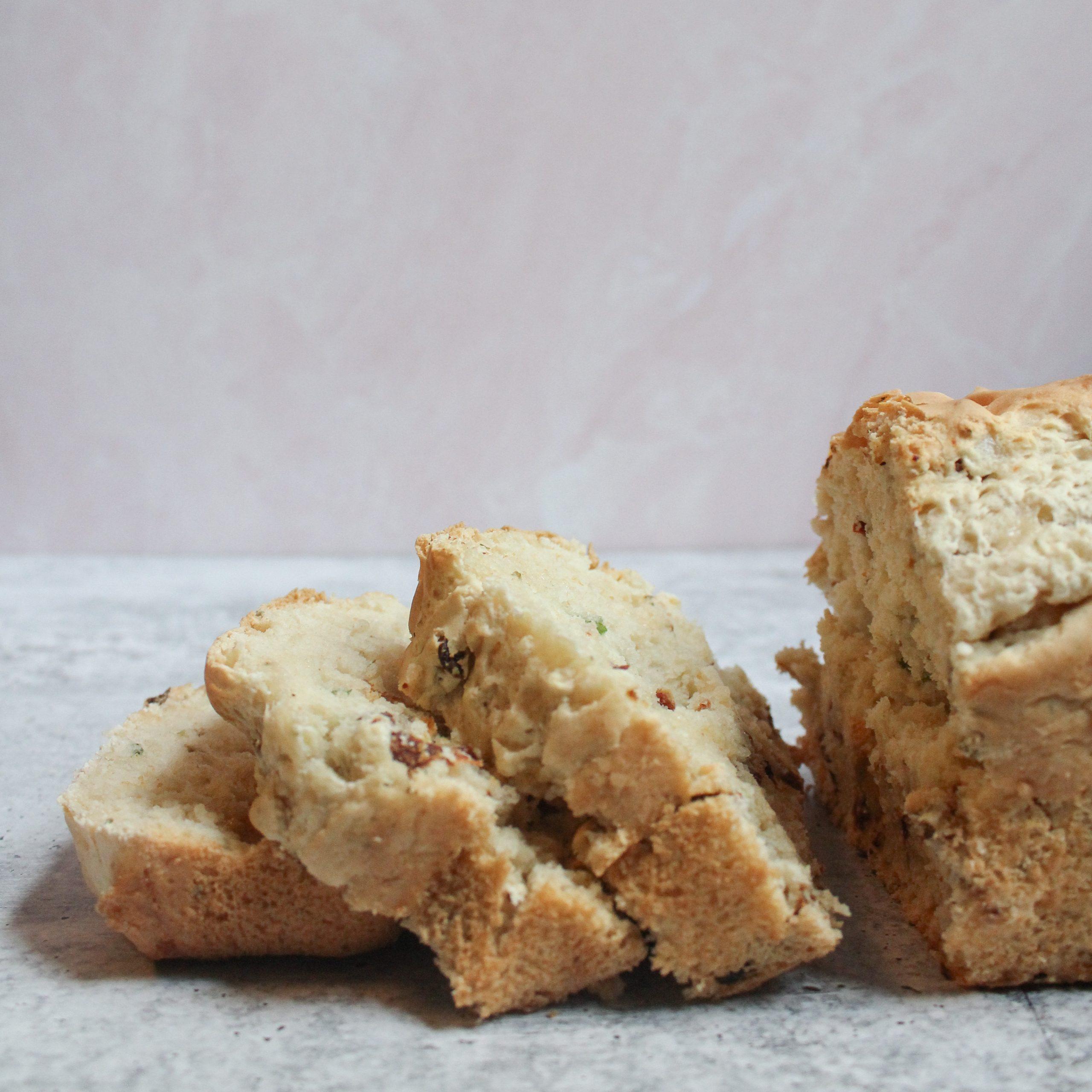 Vegan Pizza Beer Bread Flour Homemade Basil Marinara Featured Image