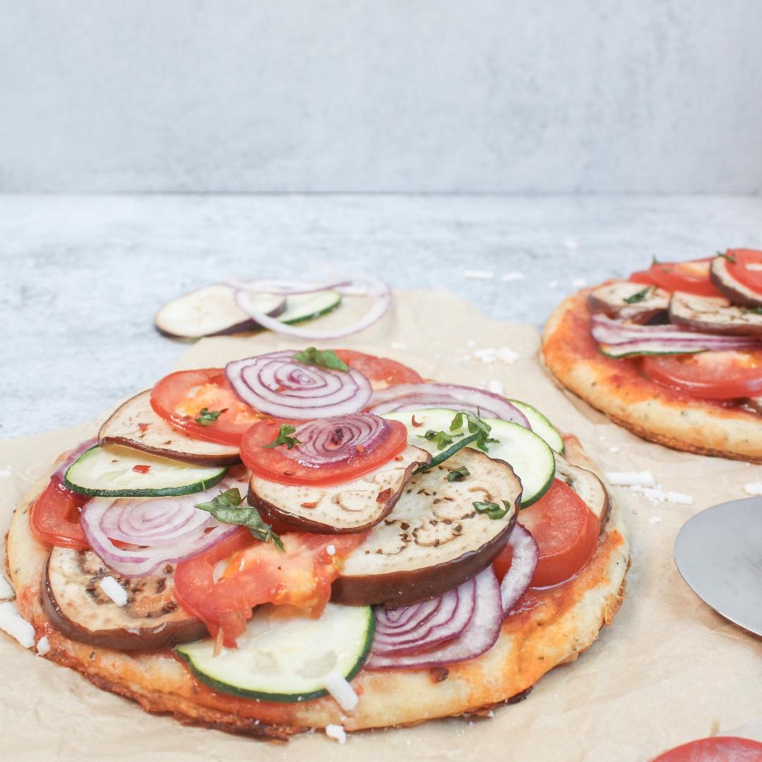 Vegan Ratatouille Pizza Featured Image