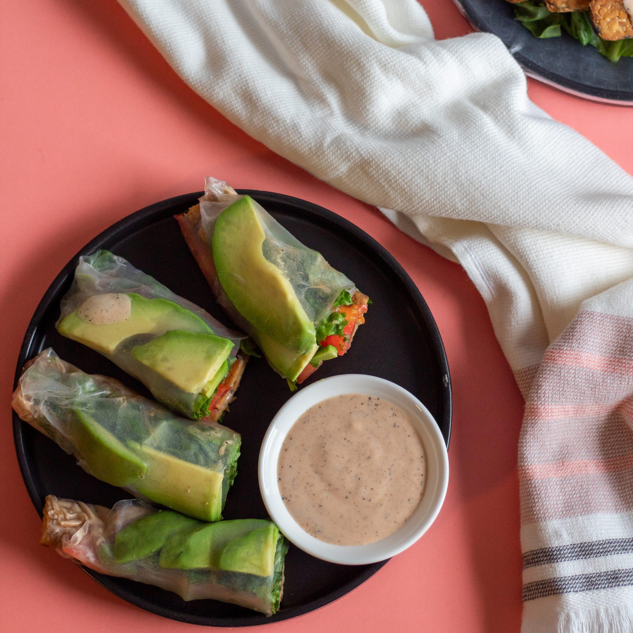 Vegan TTLA Spring Roll Wraps Easy -12