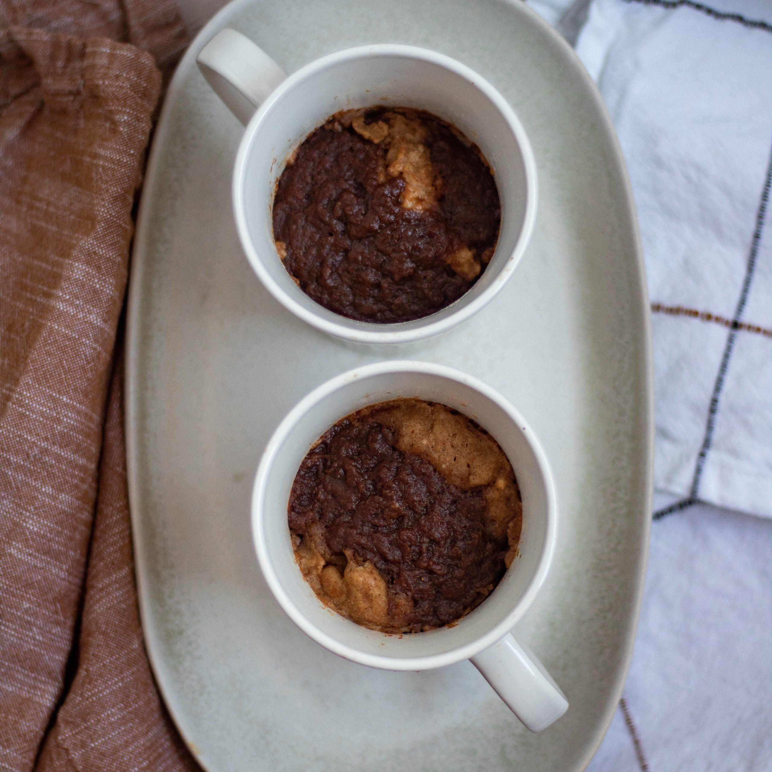 Vegan Fall Pumpkin Spice Mug Cake- Featured Image