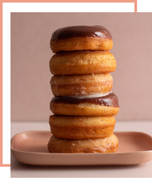 Hole Food Bakery Product Image Donuts